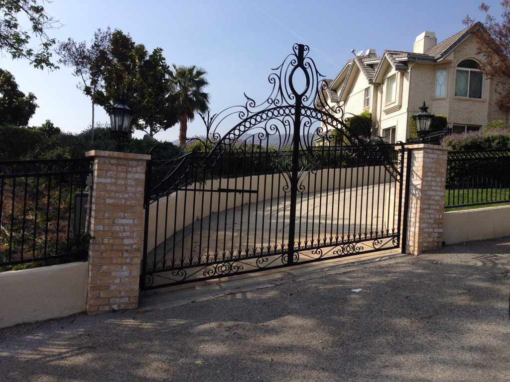 Decorative wrought iron gates diaz